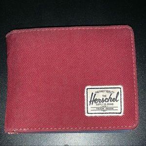 Herschel Burgundy Wallet